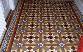 minton tile flooring